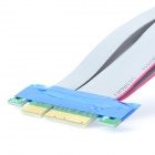PCI Express PCI-E 8X to 16X Extender Ribbon Cable for 1U / 2U - Grey
