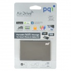 Air Drive Portable 802.11b/g/n Wi-Fi Storage for Smart Phone & Tablet PC - Grey