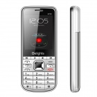 "6700 GSM MTK6252 Bar Phone w/ 2.2"" LCD Screen, Quad-Band, Quad-SIM, TV and FM - White"