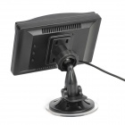 "5"" LCD Display Screen Car Rear-View Suction Cup Security Monitor - Black (480 x 800 Pixels)"
