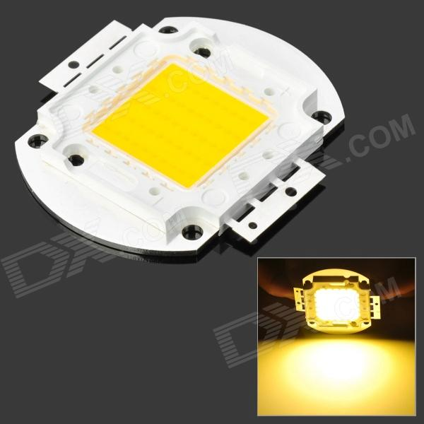 50W 3000K 5000lm 50-LED Emitter Warm White Light Plate (32 ~34V) 114w cree cxa3070 cxa 3070 white 5000k warm white 3000k led emitter lamp light with plastic led holder