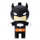 08 Cartoon Batman Style USB 2.0 Flash Drive - Black (8GB)