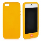 Stylish Protective Full Protection Silicone Case for iPhone 5 - Yellow