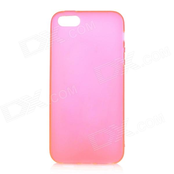 Protective TPU Case Cover for Iphone 5 - Deep Pink mercury goospery flash powder gel tpu cases cover for iphone se 5s 5 rose