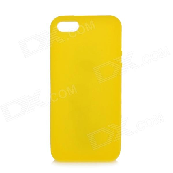 Protective Silicone Case Cover for Iphone 5 - Yellow