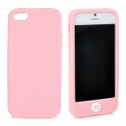 Stylish Protective Full Protection Silicone Case for iPhone 5 - Pink