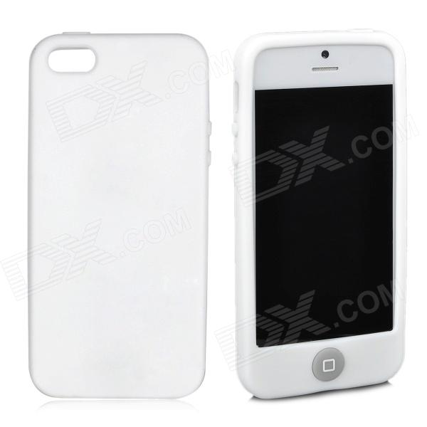 Stilvolle Protective Full Protection Silikonhülle für das iPhone 5 - White