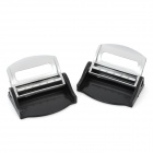 Safety Seat Belt Buckles for Car - Silver (Pair)