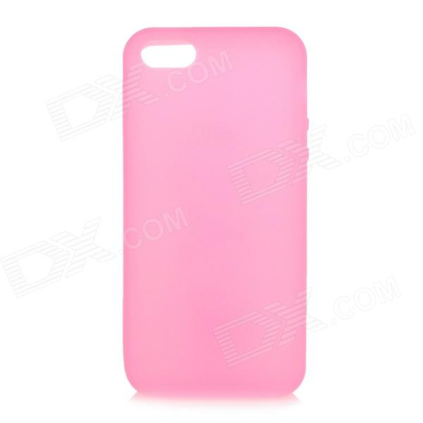 Protective Soft Silicone Back Case for Iphone 5 - Pink смартфон micromax q334 canvas magnus черный 5 4 гб wi fi gps 3g
