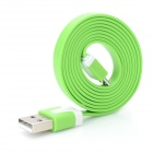 V8 Micro USB Data Charging Cable for Samsung + More - Green (100cm)