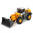 Fashion Large Alloy Forklift Bulldozer Toy - Yellow + Black