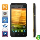 "X720D Android 4.1.1 WCDMA Bar Phone w/ 4.7"" Capacitive Screen, Wi-Fi, GPS and Dual-SIM - Black"
