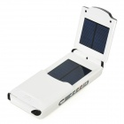 LX-C11 2.5W 12000mAh Solar Powered Rechargeable Emergency Charger for Tablets / Cellphone - White