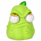 Cartoon Pumpkin Style Eyes Pop Out Stress Reliever Relief Squeeze Toy - Green