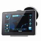 "ST-587 5"" Touch Screen LCD WinCE 6.0 GPS Navigator w/ FM + Internal 4GB Europe Map - Black"