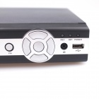 Embedded Linux 4-CH HDD Digital Video Recorder DVR - Black (PAL)