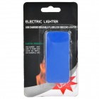 USB Rechargeable Electronic Cigarette Lighter - Blue