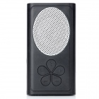 8082 Portable Rechargeable Stereo Media Speaker w/ TF - Black