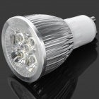GU10 5W 550lm 6500K 5-LED White Light Dimming Spotlight (AC 110V)