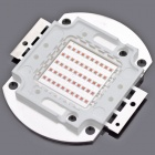 50W 2200lm 583-586nm Square LED Yellow Light Module (22~24V)