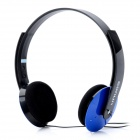 SONUN SN-882MV Stereo Headphone w/ Microphone - Blue (3.5mm Plug / 177cm)