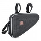 Bicycle Bike Tube Triangle Hard Bag - Black