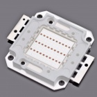 30W 2000lm 635-700nm Square LED Red Light Module (22~24V)