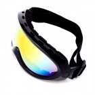 CARSHIRO XQ034 Outdoor Riding Resin Lens Eye Protection Sunglasses - Black + Yellow