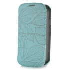 ROCK Leaf Pattern Protective Flip-Open Case for Samsung Galaxy S3 i9300 - Green