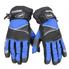 Scoyco MC15-L Full-Fingers Motorcycle Racing Gloves - Blue + Black (Pair / Size L)