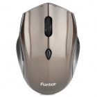 2.4GHz 500 / 1600dpi Wireless Optical Mouse - Coffee (2 x AAA)