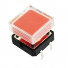 Square Style Electrical Power Control 4-Pin Push Button Switches (10 PCS)