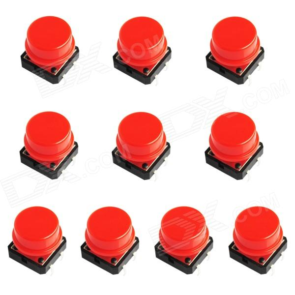 Electrical Power Control 4-Pin Push Button Switches (10 PCS)