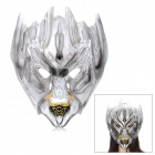 Transformers Decepticon Style ABS Face Mask for Halloween Makeup - Grey