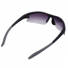 Xidunlang Y903 Outdoor Riding UV400 Resin Lens Eye Protection Goggle Sunglasses - Black