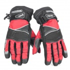 Scoyco MC15-L Full-Fingers Motorcycle Racing Gloves - Red + Black (Pair / Size L)