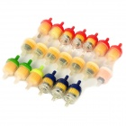 Universal Motorcycle Sponge Fuel Filter Cup (20 PCS / Random Color)