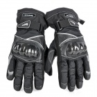 Scoyco MC15B-XL Full-Fingers Motorcycle Racing Gloves - Black (Pair / Size XL)
