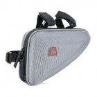 Bicycle Bike Tube Triangle Hard Bag - Grey