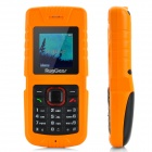 "RugGear RG-121 Ultra-Rugged Waterproof GSM Handy w / 1,5 ""-Bildschirm, Dual-Band und Torch - Orange"
