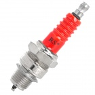 Replacement Universal Motorcycle Spark Plug - Red