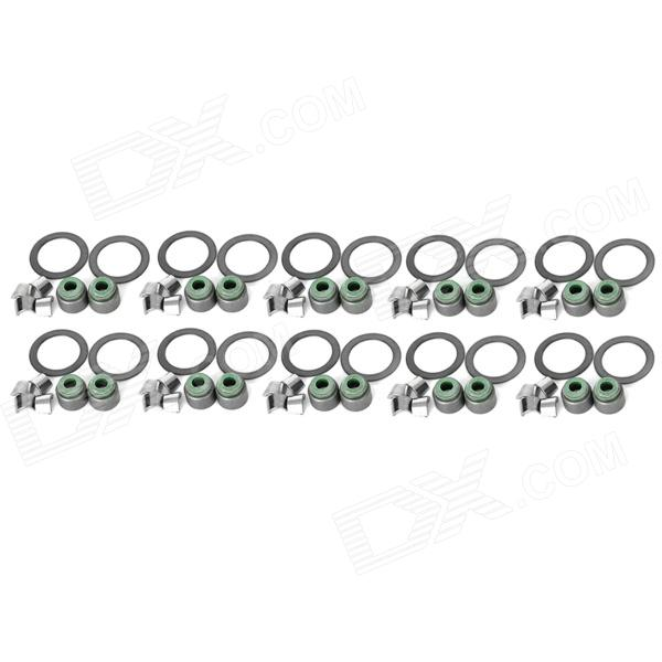 Motorcycle Valve Oil Seal for BAJAJ175 / BAJAJ145 - Black (10 PCS)
