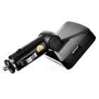 "1.3 ""LED Car MP3 Player Transmissor FM Controlador w / Remote - Preto"