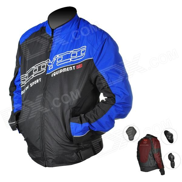 Scoyco JK31-L Multi-functional Light Motorcycle Racing Jacket Set - Blue (Size L)
