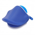 Stylish Duck Mouth Style Stand Holder Cable Winder for iPhone 4 / 4S + More - Blue