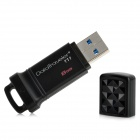 Kingston DT111 USB 3.0 Flash Drive - Black (8GB)