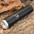 Cree XR-E Q3 180lm 1-Mode White Light Zooming Flashlight - Black (1 x 14500 / AA)