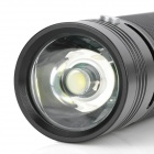 LXQQ X128 120lm 2-Mode White LED Flashlight Speaker - Black