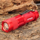 SIPIK SK-68 Cree XR-E Q5 260lm 1-Mode White Light Zooming Flashlight - Red (1 x AA)