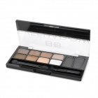 Cosmetic Makeup 10-Color Eye Shadow Palette - Coffee Color Series